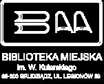 Logo Biblioteka Miejska im. W.Kulerskiego