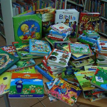 Książki dla biblioteki w szpitalu