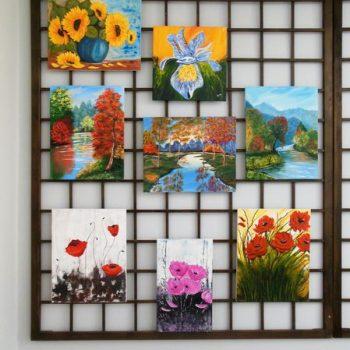 Ekspozycja malarstwa Teresy Głowackiej