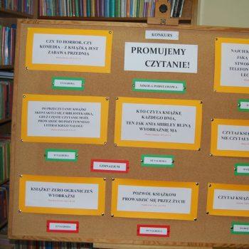 Konkurs na hasło promujące czytanie